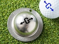 Tin Cup: Alpha Players Golf Ball Marker