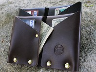 American Bench Craft: Riveted Wallet