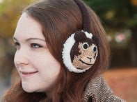 Nirvanna Designs: Animal Knit Earmuffs