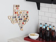 Beer Cap Trap: Choose Your State Beer Cap Map