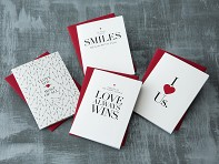 Design With Heart: Boxed Set of 8 Greeting Cards