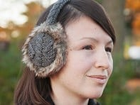 Nirvanna Designs: Cable Knit Earmuffs