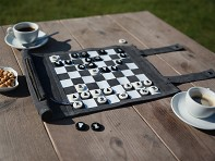 Sondergut: Roll-Up Travel Chess / Checkers