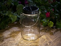 Consol Solar Jar: Solar-Powered LED Light
