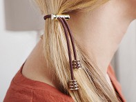 Pulleez: Sliding Hair Tie - Crystals