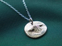 Precious Metal Prints: Pet Nose Pendant Necklace Kit