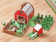Storytime Toys: Family Farm Playset & Storybook