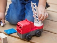 Luke's Toy Factory: EcoTruck Fire Truck