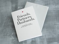 "Design With Heart: ""Friends, Partners, Husbands"" Card"