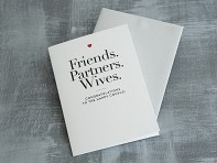 "Design With Heart: ""Friends, Partners, Wives"" Card"