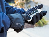 Glove.ly: Men's Sport Touchscreen Gloves