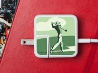 Meo: Hole in One Charger Label