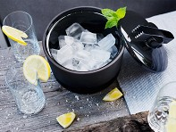 Magisso: Ice Bucket With Lid & Tongs