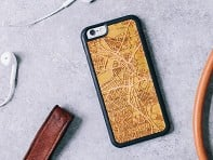 Cut Maps: iPhone Map Case