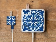 Moroccan Tile Charger Label