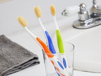 Anti-Microbial Toothbrush - Case of 3