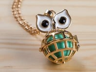 Owl Angel Locket