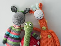 Pebble: Crocheted Stuffed Animals