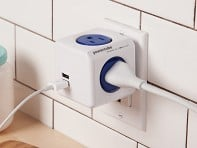 PowerCube: Dual USB Outlet Adapter