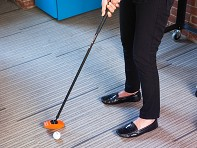 Orange Whip: Golf Putting Wand