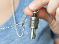 Lovetuner: Silver Mindfulness Tone Necklace