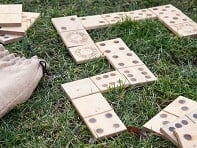 Snake Eyes: Yard Dominoes