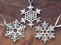 Snowflake Ornament Gift Set