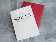 "Design With Heart: ""So Many Smiles"" Greeting Card"