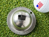 Tin Cup: Stars & Stripes Golf Ball Marker