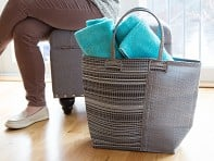 Swahili African Modern: Hand-Woven Oversized Tote