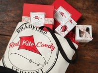 Red Kite Tote With Candy