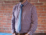 State and Liberty: The Hunwick - Triple Gingham