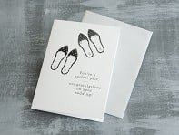"Design With Heart: ""Perfect Pair"" Greeting Card"