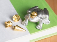 Pewter Paperweight - Frog Prince