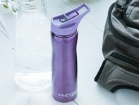 Purple Insulated Water Bottle
