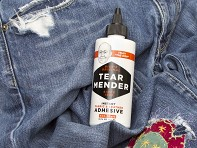 Tear Mender: Fabric Repair Adhesive Set