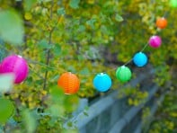 Allsop Solar Lighting: Soji Mini Nylon String Lights