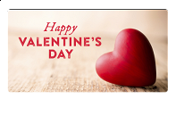 Email Gift Card: Happy Valentine's Day