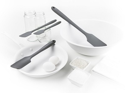 Get It Right: Silicone Spatula 4-Piece Set