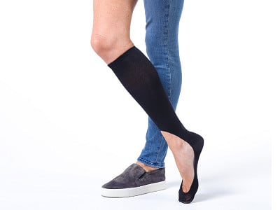 Keysocks: Classic No Show Socks - 2 Pair