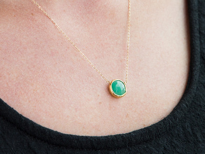 Kyle Chan Design: Gemstone Pendants