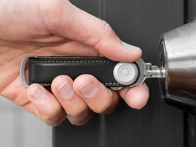 Orbitkey: Premium Leather Key Fob