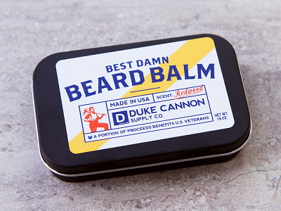 Duke Cannon: Best Damn Beard Balm