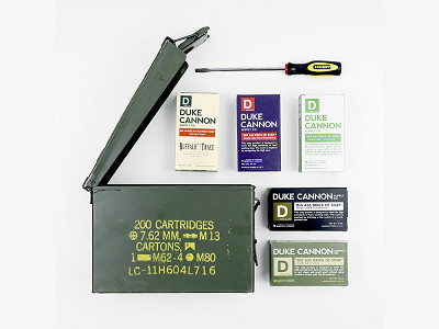 Duke Cannon: Military Field Grooming Gift Set
