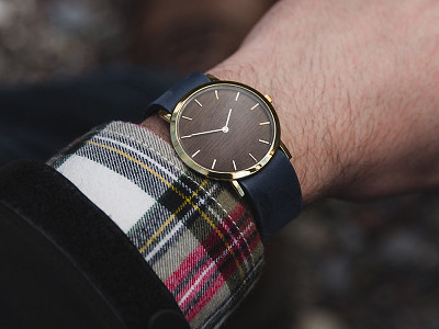 Analog Watch Co.: Makore Classic Watch