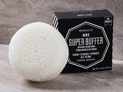 Spongellé: Men's Super Buffer