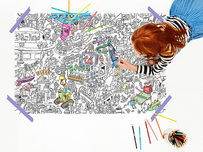 Coloring Posters by Pirasta