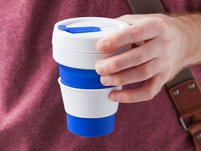 Stojo: Collapsible Travel Cup