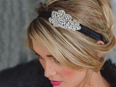 Jolie: Embellished Headband