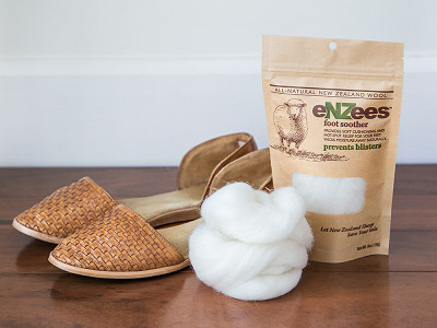 eNZees Foot Soother: Wool Blister Relief Bulk Pack